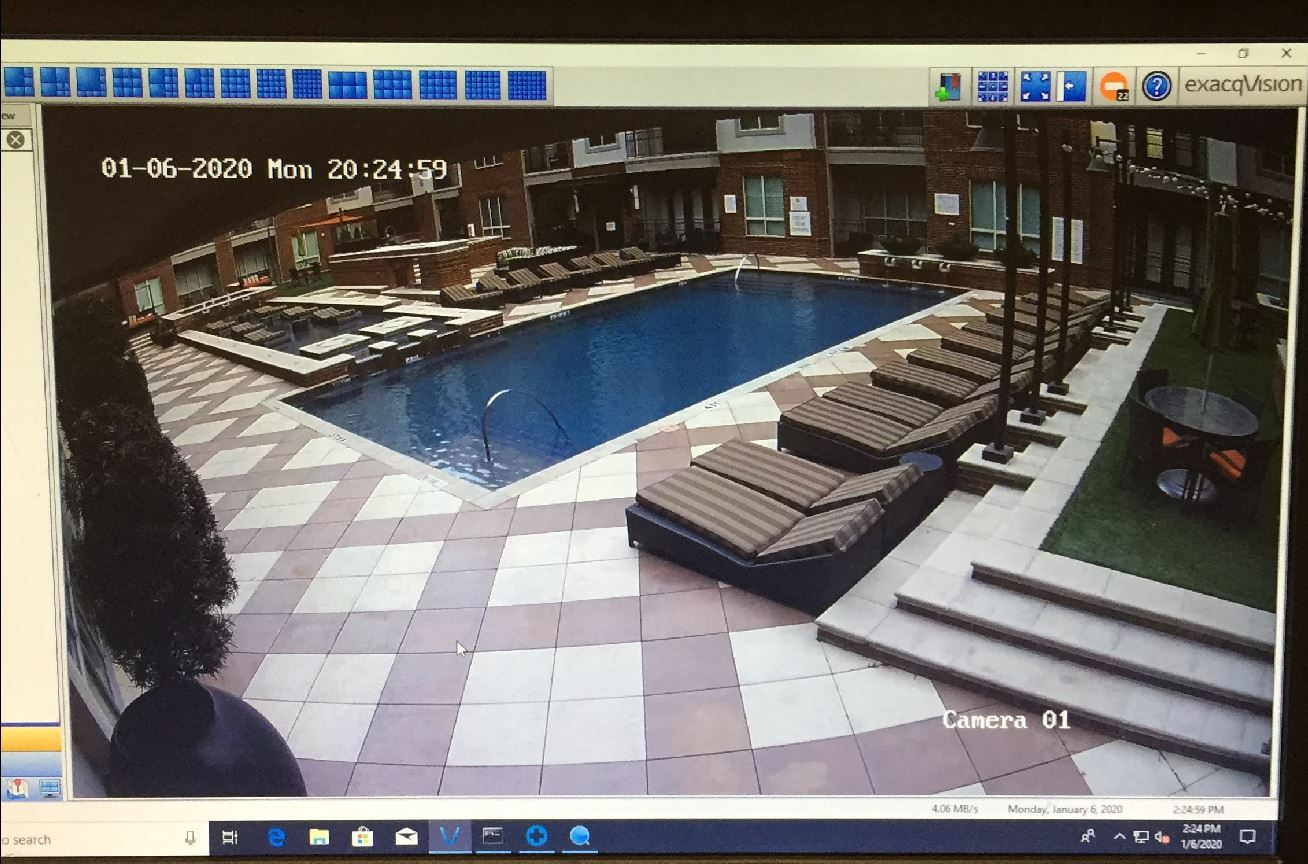NVR View of Pool